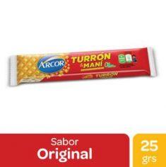 Turron Oblea Arcor 25Gr