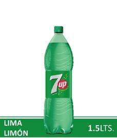 Gaseosa Lima Limón 7Up 1500Cc