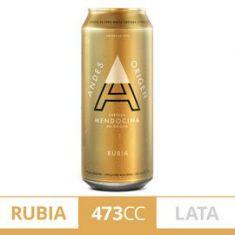 Cerveza Rubia Andes Origen En Lata 473Cc